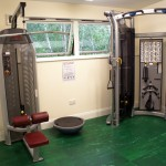 Training Gym - Lateral Pull-Down Machine and Cable Machine