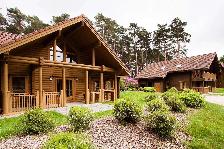 5 star log homes the dorset golf resort for Star home designs